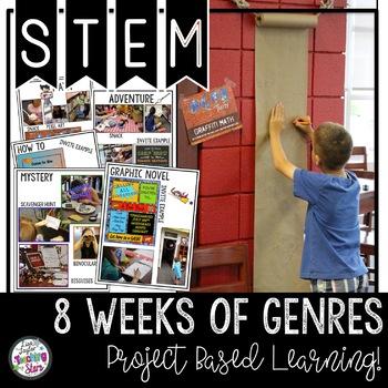 STEM Challenges: 8 Weeks of Reading Genres