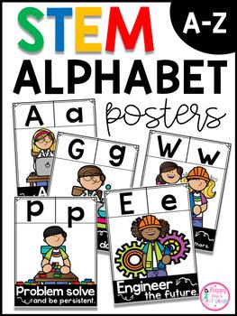 STEM ALPHABET POSTERS