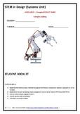 STEM ARDUINO Card ROBOTIC ARM STUDENT