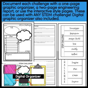 STEM Activities - 10 STEM Challenges (Set 2) BUNDLE