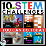 STEM Activities - 10 STEM Challenges (Set 2) BUNDLE