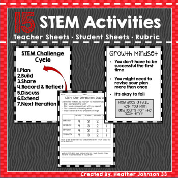 STEM Activities 15 Challenges
