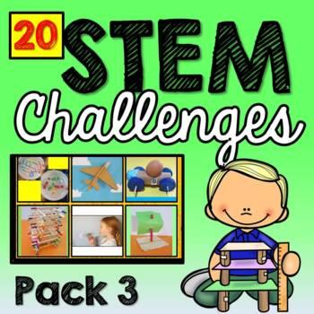 STEM Activities (20 Challenges) Pack 3