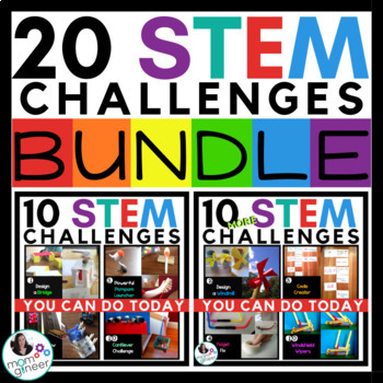 STEM Challenges BUNDLE - STEM and STEAM Activities