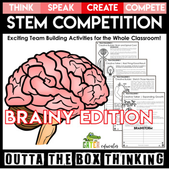 STEM Activities   GROWTH Mindset   Brainy   Outta the Box
