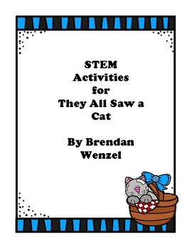 STEM Activities Bundle - They All Saw a Cat