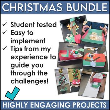 Christmas STEM Activities Bundle