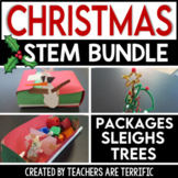 Christmas STEM Challenges Bundle
