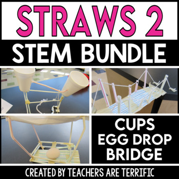 STEM Activities Challenge Bundle Straws 2