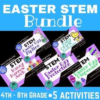 STEM Activities Easter BUNDLE