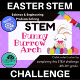 STEM Activities - Easter Bunny Burrow Arch - NGSS Aligned