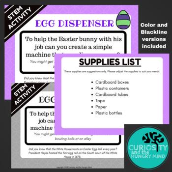 STEM Activities Easter Egg Dispenser