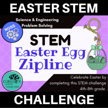 STEM Activities Easter Egg Zipline