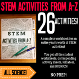 STEM Activities From A-Z Workbook