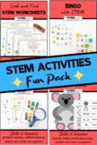 STEM Activities Fun Pack