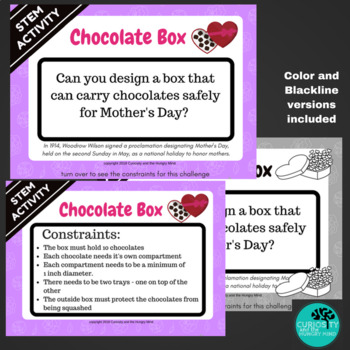 STEM Activities MOTHER'S DAY Chocolate Box