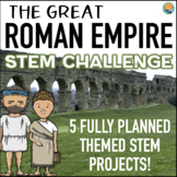 STEM Activities Pack: The Great Roman Empire STEM Challenge