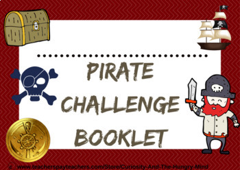 STEM Activities - Pirate Challenge ***BACK TO SCHOOL ACTIVITY***