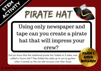 STEM Activities - Pirate Challenges