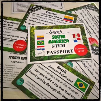 STEM Bundle -Travel the WORLD
