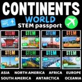 STEM Bundle Travel the WORLD - Independent Work Packets.