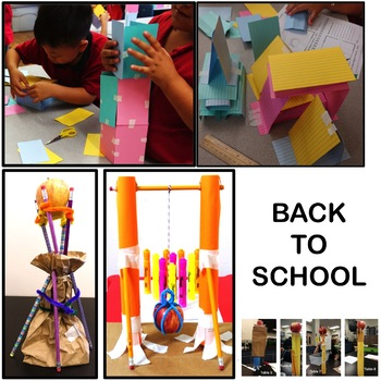 STEM Activities and Challenges for Back to School Fall Halloween & Thanksgiving