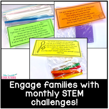 STEM Activities and Challenges in a Bag | Monthly Family Science