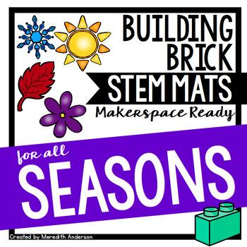 STEM Activities for All Seasons - STEM Mats for Building Bricks