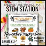 STEM Activities for November | Engineer Inspiration | Prin