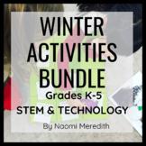 Technology & STEM Activities for Winter | Bundle