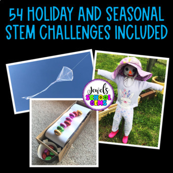 STEM Activities for the ENTIRE YEAR Bundle (STEM Challenges for the Year BUNDLE)