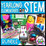 A Year of STEM Challenges Elementary BUNDLE with Back to S
