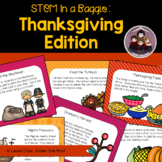 STEM Activities in a Baggie: Thanksgiving Edition