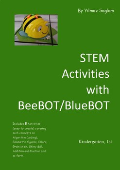 Stem Activities With Beebot For Kindergarten First Grade By Yilmaz