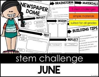 STEM Activity - 15 Challenges - Summer