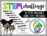 STEM Activity - 40 Challenges BUNDLE