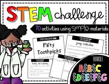 STEM Activity - 70 Challenges