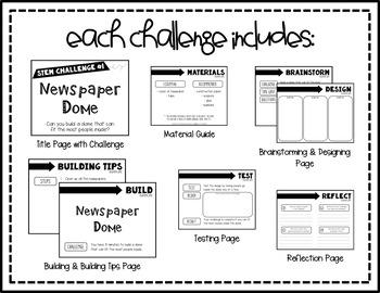 STEM Activity - 10 Challenges