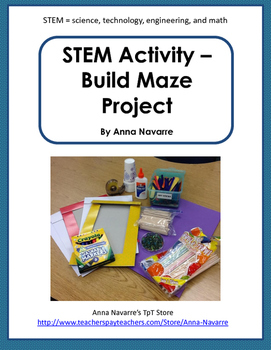 STEM Activity - Build a Maze