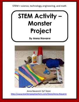 STEM Activity - Build a Monster