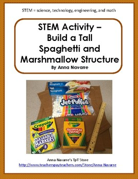 STEM Activity - Build a Tall Spaghetti Structure