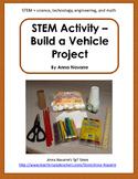 STEM Activity - Build a Vehicle