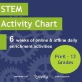 STEM Activity Calendar
