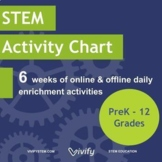 At-Home STEM Activity Calendar: 6 Weeks of Daily Activitie