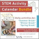 Year-Round STEM Activity Calendar Bundle