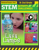STEM Activity Challenge - Lava Lamps K-2nd Grade