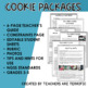 STEM Activity Challenge Christmas Cookie Packages