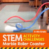 STEM Activity Challenge Marble (Noodle) Roller Coaster 6th