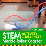 STEM Activity Challenge Marble (Noodle) Roller Coaster K-2nd Grade
