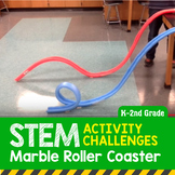 STEM Activity Challenge Marble (Noodle) Roller Coaster K-2